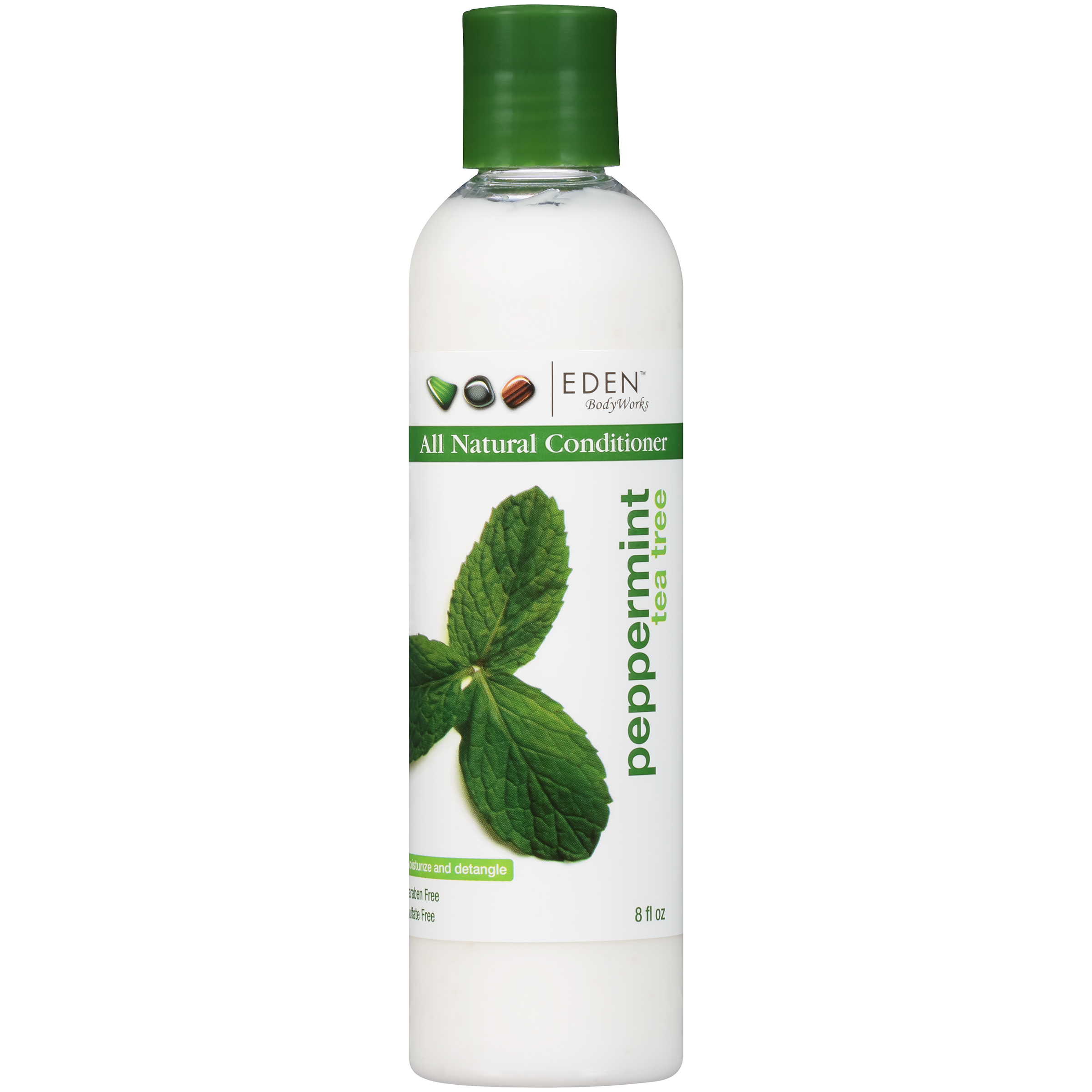 EDEN BodyWorks Peppermint Tea Tree All Natural Conditioner, 8 fl oz ...