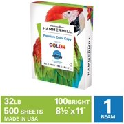 Hammermill Printer Paper, 32lb Premium Color Copy Paper 8.5x11, 1 Ream
