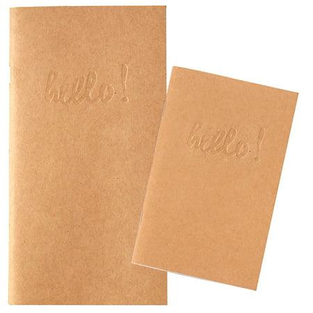 Kraft Blank Standard Notebook - Websters Pages - Kraft Paper Notebook