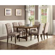 Better Homes And Gardens Providence Table Brown Walmart Com