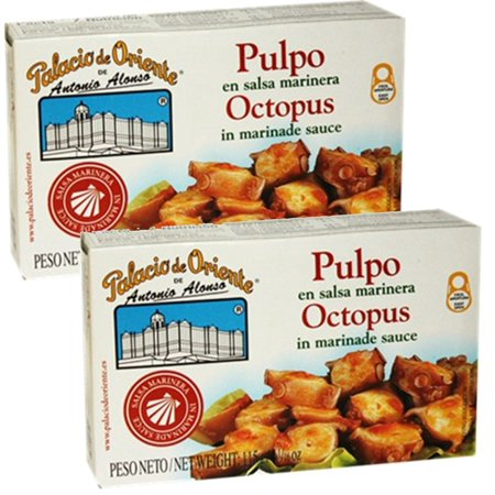 Octopus in Marinera Sauce 4 oz. from Spain Palacio De Oriente (Pack of 2)](Marinera De Halloween)