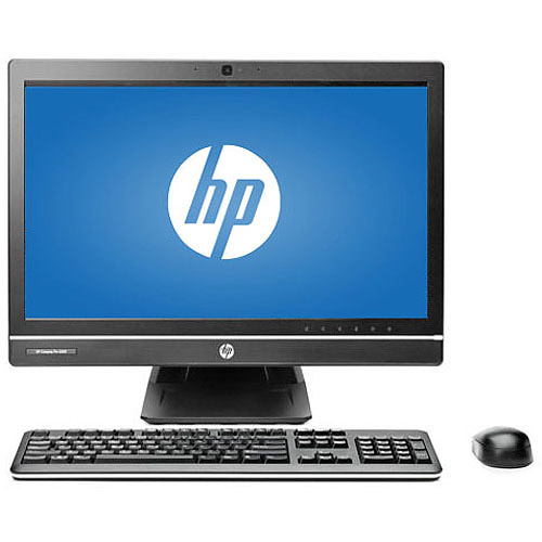 "HP Black Compaq Pro 6300 All-in-One Desktop PC with Intel Core i3-3220 Processor, 4GB Memory, 21.5"" Monitor, 500GB Hard Drive and Windows 7 Professional"