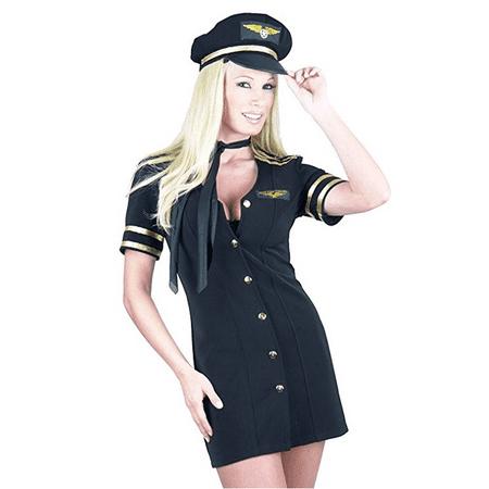 Women's Mile High Captain (Women's Captain Costume)