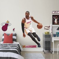 Fathead Dwyane Wade - Life-Size Officially Licensed NBA Removable Wall Decal