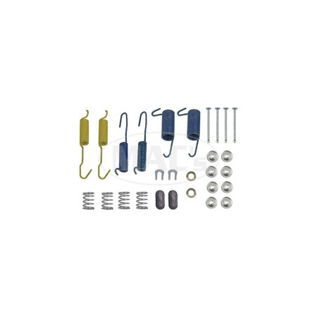 Auto Drum Brake (MACs Auto Parts Premier  Products 4188680 Drum Brake Hardware Combo Kit For 10