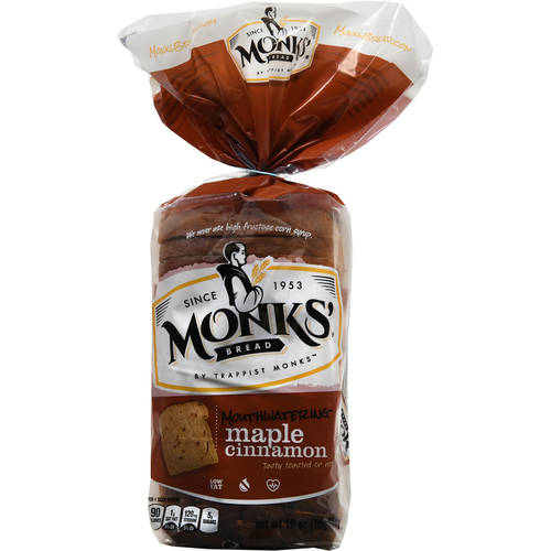 Monks' Bread Mouthwatering Maple Cinnamon, 16 oz