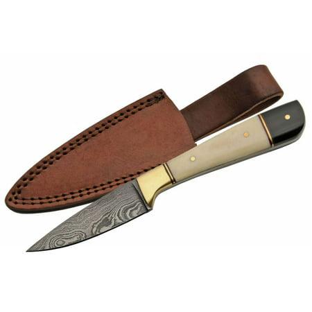 (Damascus Steel Skinning Knife 7