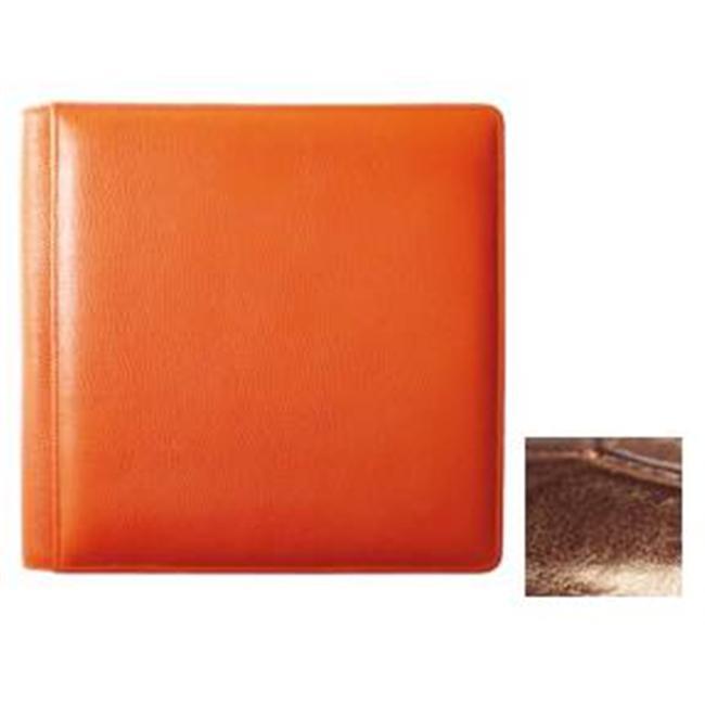Raika NI 105 BROWN 4inch x 6inch Large Photo Album - Brown