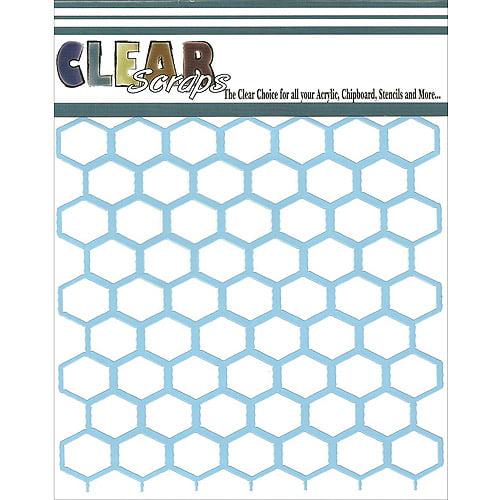 "Clear Scraps Stencils 6"" x 6"" Stencil"