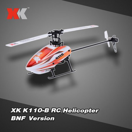 Original XK Blast K110-B 6CH 3D 6G System Brushless Motor BNF RC Helicopter without Remote
