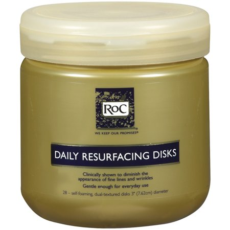 Roc Daily Resurfacing Disks, Skin-Conditioning Cleanser, 28 Count