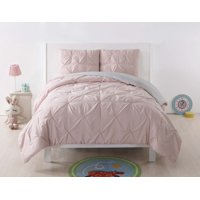 My World Pleated Reversible Comforter Set, Multiple Colors