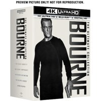 The Bourne Ultimate Collection (4K Ultra HD + Digital Copy)