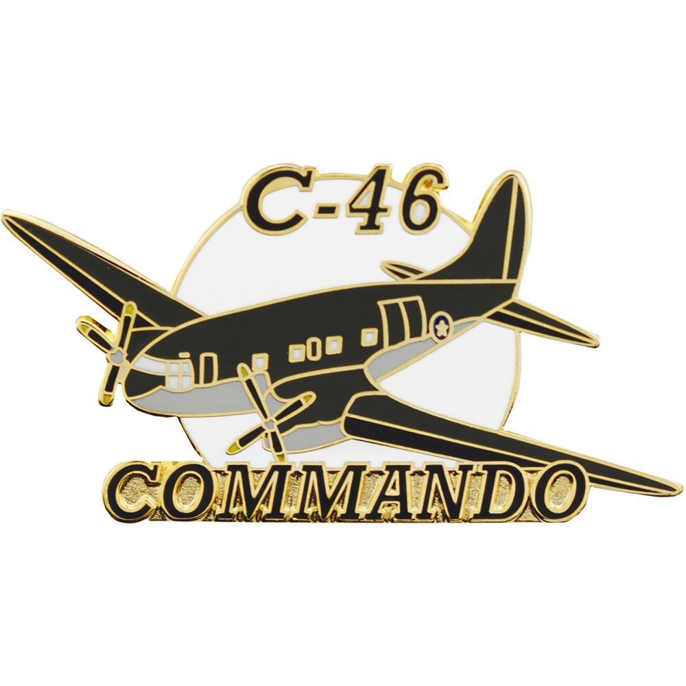 C-46 Curtis Airplane Pin 1 1/2
