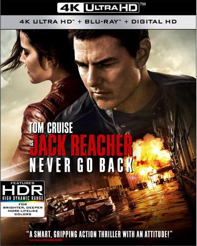 Jack Reacher: Never Go Back (Walmart Exclusive) (4K Ultra HD + Blu-ray + Digital HD)