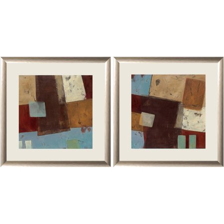 Brown Abstract Collage II Wall Art, 18