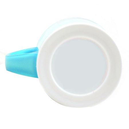 Famille Salle Bain en Plastique en Forme Cylindre gargariser Dentifrice Porte-gobelet Brosse à Dents - image 2 de 3
