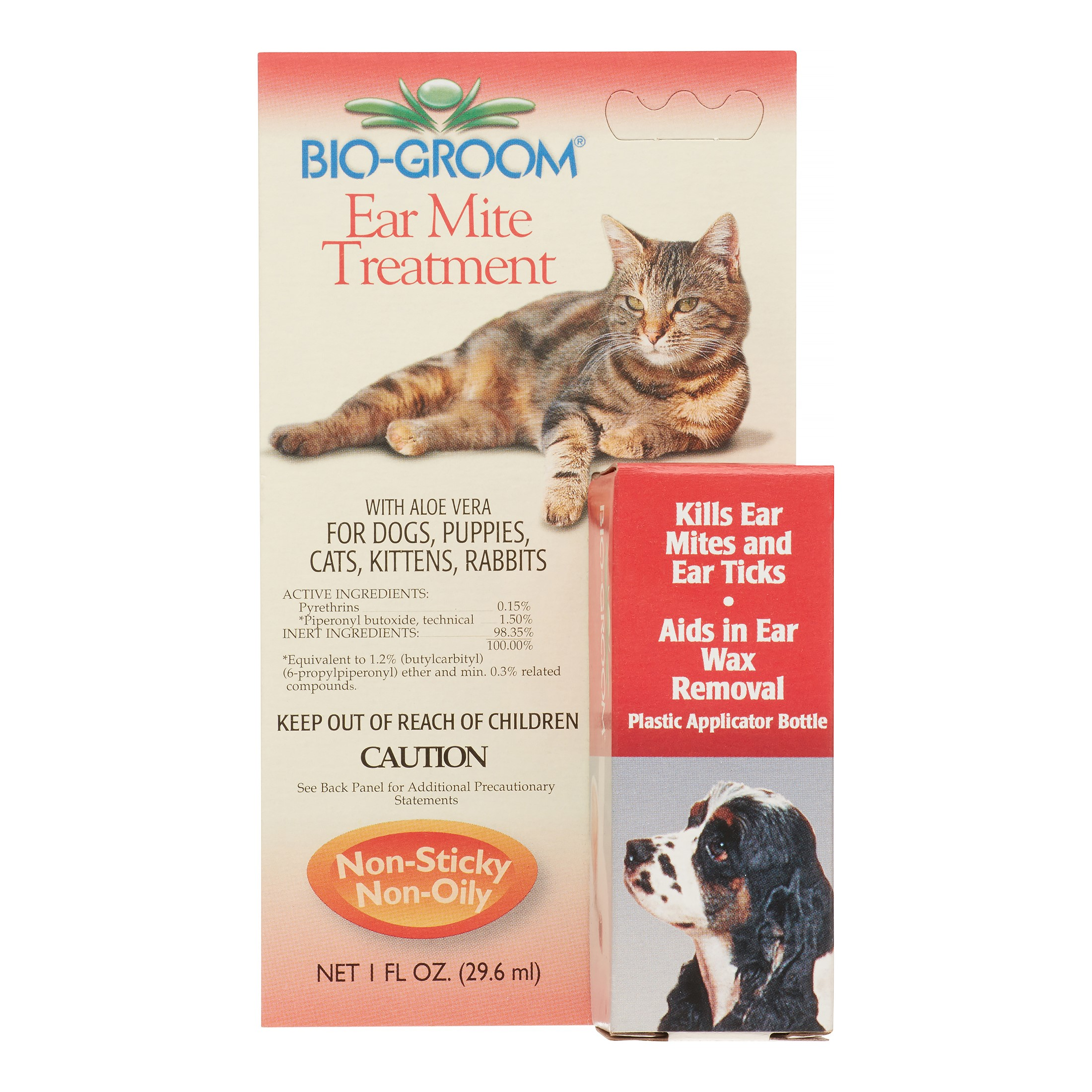 Bio Groom Ear Mite Treatment -- 1 fl oz
