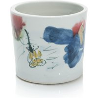 Vase JOHN-RICHARD Oxblood Reactive Glaze Ocher Blue Red Yellow New JR-1132