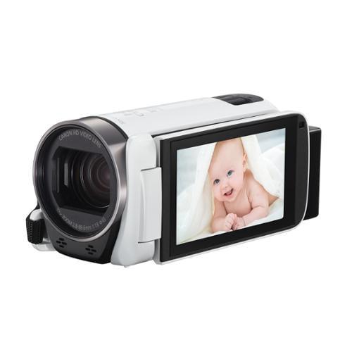 "Canon Vixia R700 Digital Camcorder - 3"" - Touchscreen Lcd - Hd Cmos - Full Hd - White - 16:9 - 2.1 Megapixel Video - Avchd, Mp4, Mpeg-4 - 32x Optical Zoom - 1140x Digital Zoom - Optical, (1238c002)"