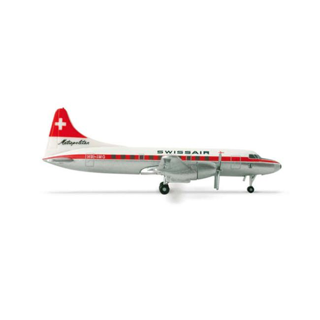 Herpa 500 Scale HE517591 Swissair CV-440 1-500