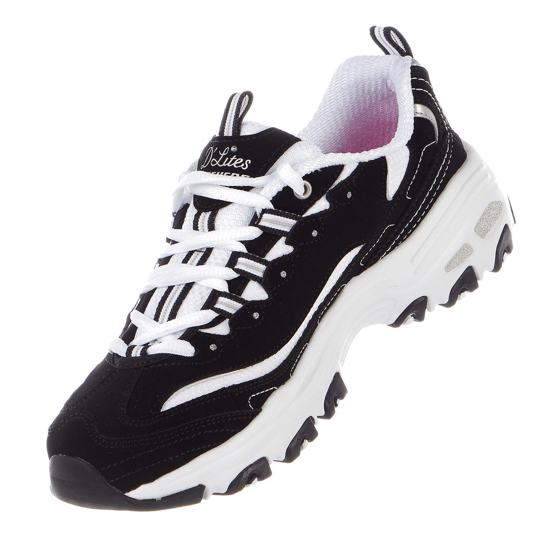 Skechers 11931BBK FRESH Women's D'LITES - FRESH 11931BBK START Walking Shoes 71ec65