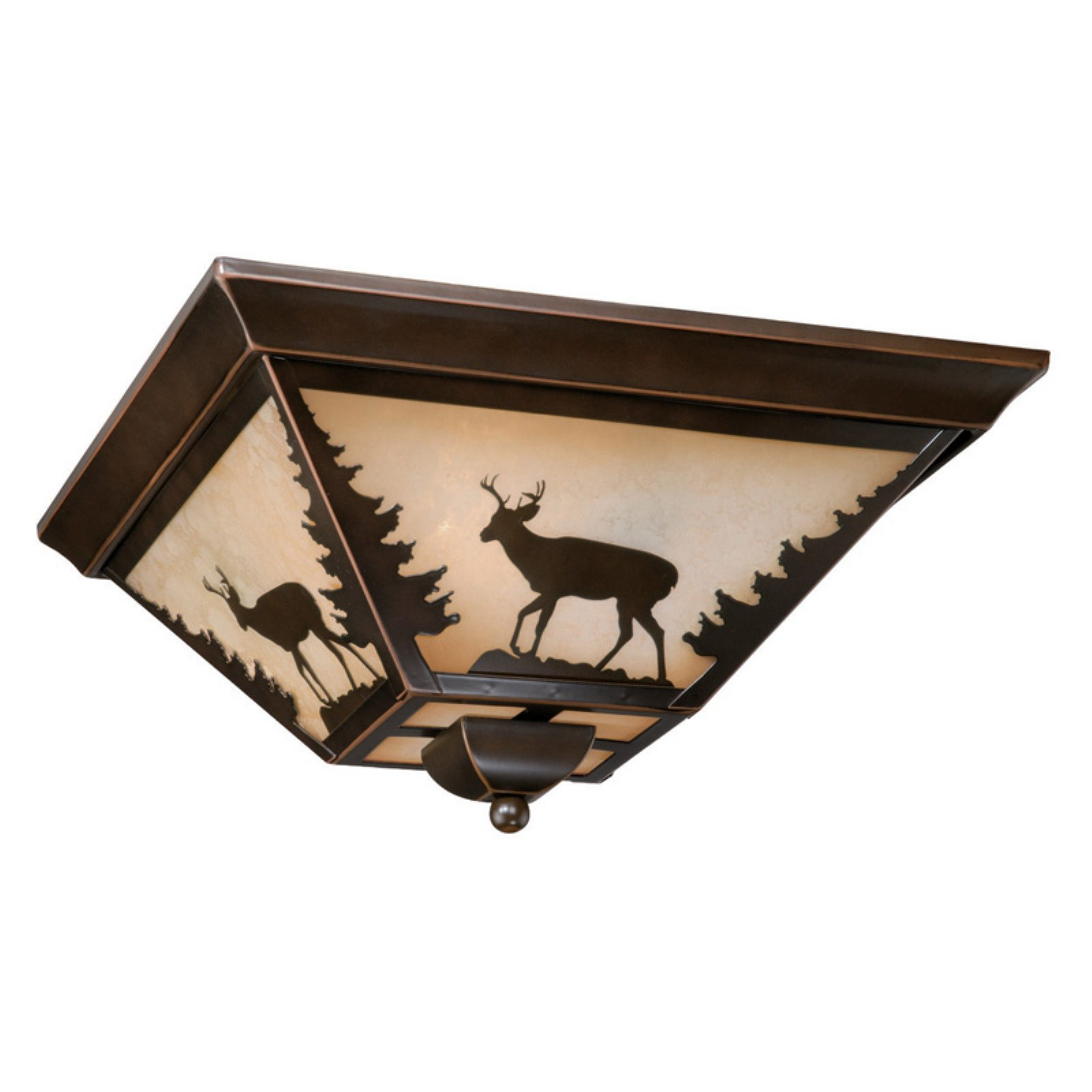 Vaxcel Bryce Flush mount - 14W in. Burnished Bronze