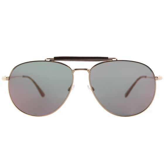 cc34676b7ac2c Tom Ford - Tom Ford Sean TF536 28Z Gold Rose Mirrored Sunglasses ...