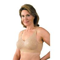 Classique 769E Post Mastectomy Fashion Bra-Nude-38AA (Bras 38aa)