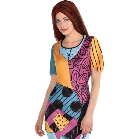 Next Halloween Nightmare Before Christmas (The Nightmare Before Christmas Sally Halloween Tunic for Women, Small/Medium, by Party)
