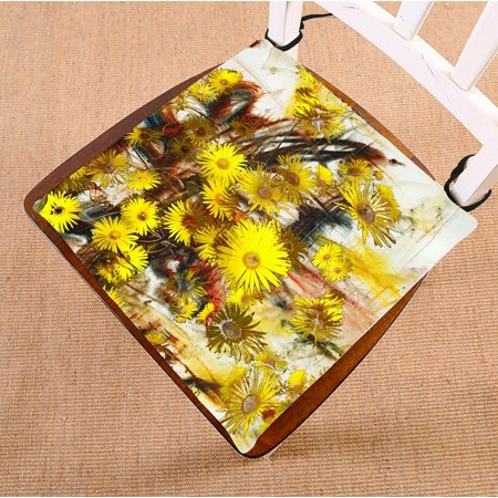 Phfzk Abstract Chair Pad Oil Painting