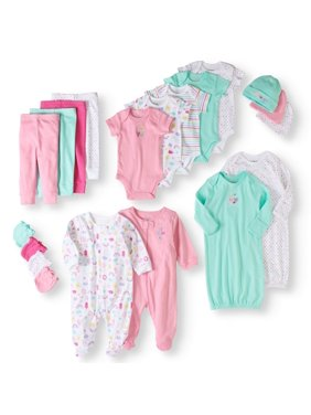 d6cd0da3d Product Image Garanimals Newborn Baby Girl 20 Piece Layette Baby Shower  Gift Set