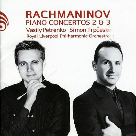 Piano Concertos 2 & 3 (CD)