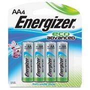 Energizer Ecoadvanced Aa Batteries - Aa - Alkaline (xr91bp-4ct)