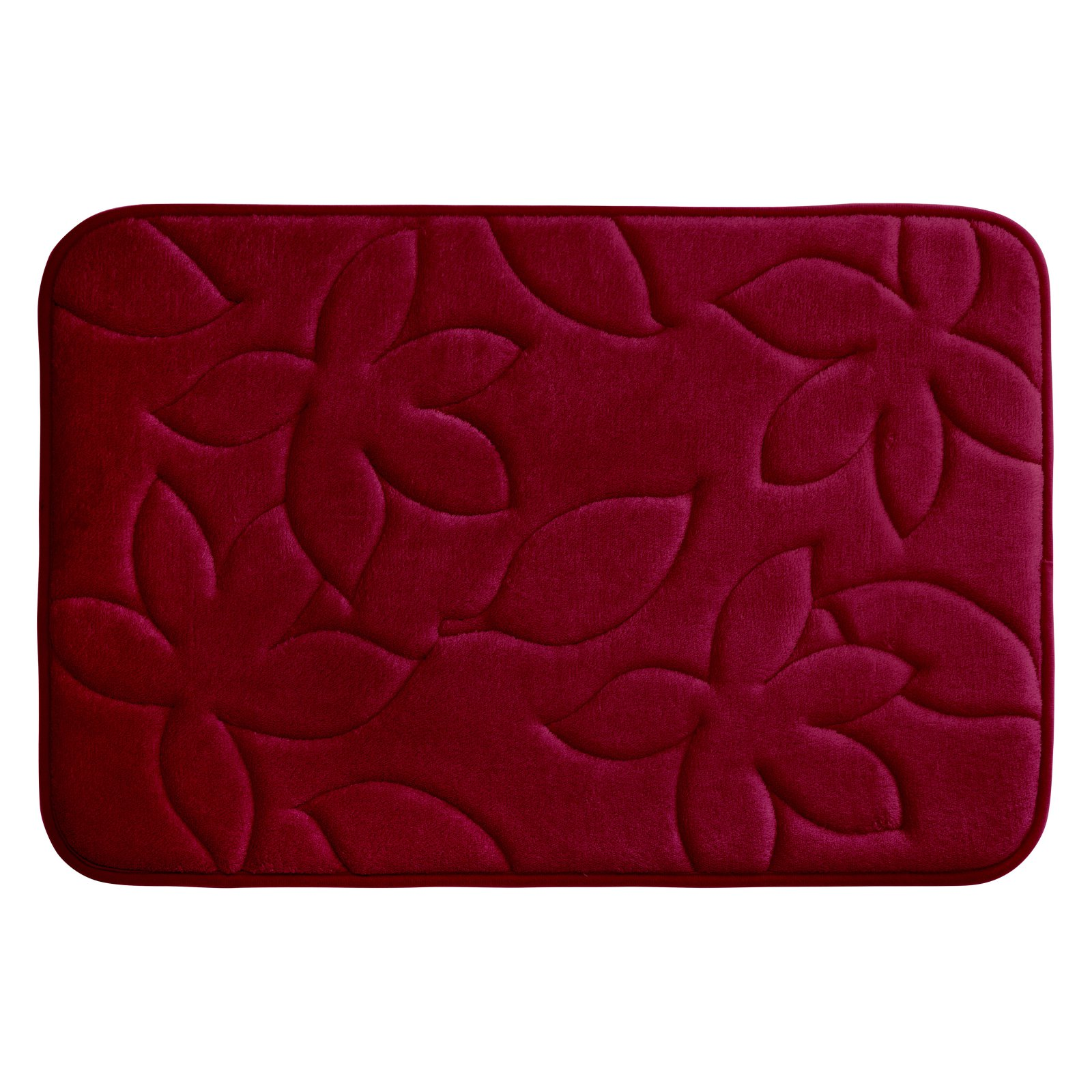 Bounce Comfort Blowing Leaves Premium Memory Foam Bath Mat