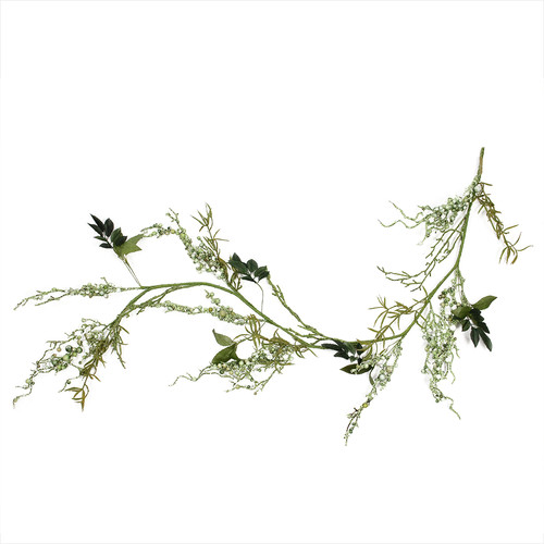 Northlight Seasonal Mixed Berry and Spring Floral Decorative Artificial Garland
