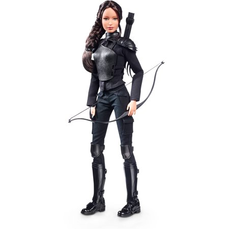 Barbie Hunger Games Mockingjay Part 2 Katniss Everdeen Doll - Barbie And The Halloween Games