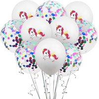 KABOER 10 Pcs Colorful Unicorn Latex Pearl Balloons Thickening Wedding Party Birthday Balloons Christmas Decaoration