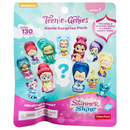 Fisher-Price Nickelodeon Shimmer & Shine, Teenie Genies, Genie Surprise Pack [Styles May (Prize Packs)