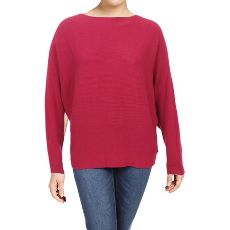 Lauren Ralph Lauren Womens Alsah Dolman Sleeves Ribbed Pullover Sweater