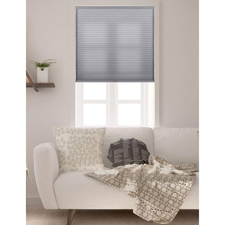 Arlo Blinds  Grey Light Filtering Cordless Cellular Shade 0.375' Single Cellular Shades