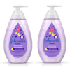 (2 pack) Johnson's Bedtime Baby Moisture Wash with Soothing Aromas, 13.6 fl. oz