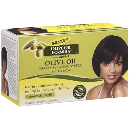 olive oil hair relaxer instructions