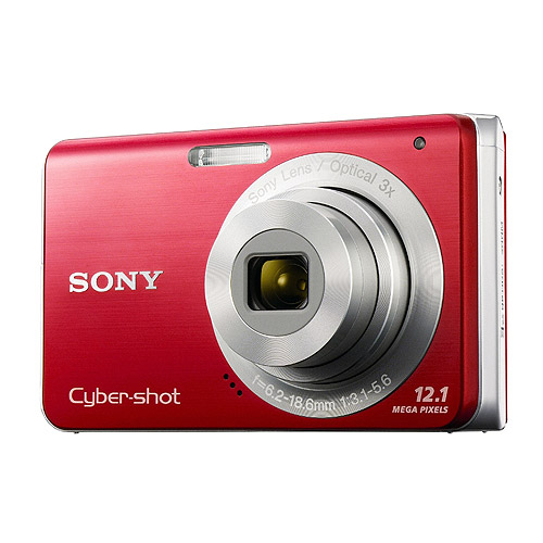 Sony Cybershot DSC-W190 12.1MP Digital Camera with 3x Sup...