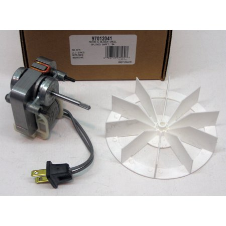 97012041 Broan Nutone Bathroom Vent Fan Motor & Wheel 50 cfm repl.