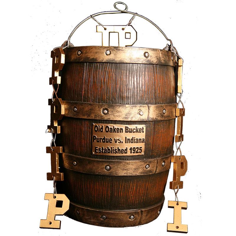 NCAA Indiana/Purdue Old Oaken Bucket Replica Trophy ...