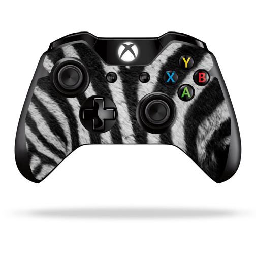 Protective Vinyl Skin Decal Cover for Microsoft Xbox One Controller wrap sticker skins Zebra