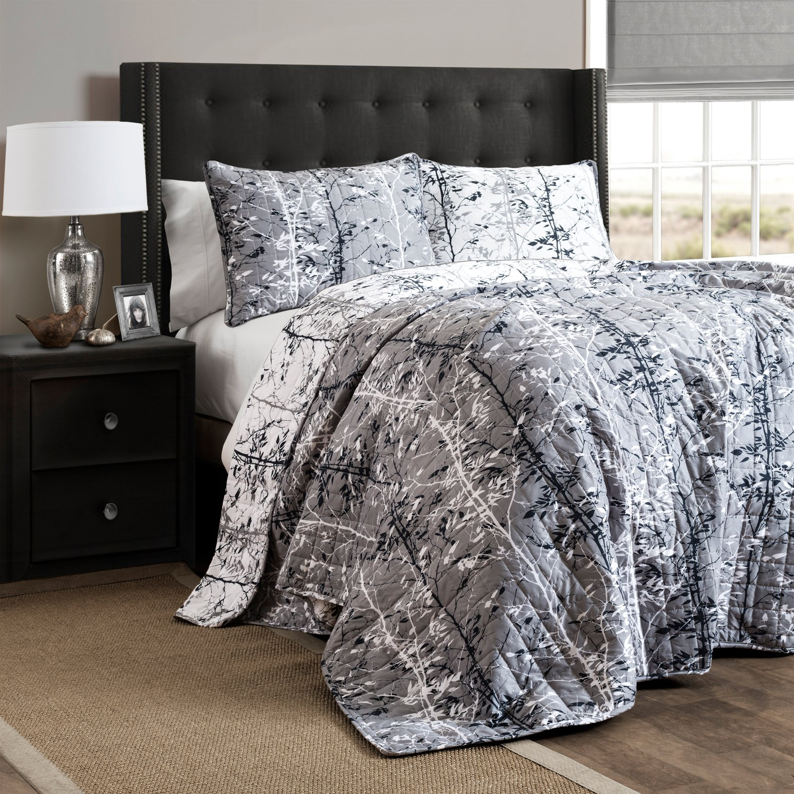 Forest 3 Piece Quilt Set by Lush Decor
