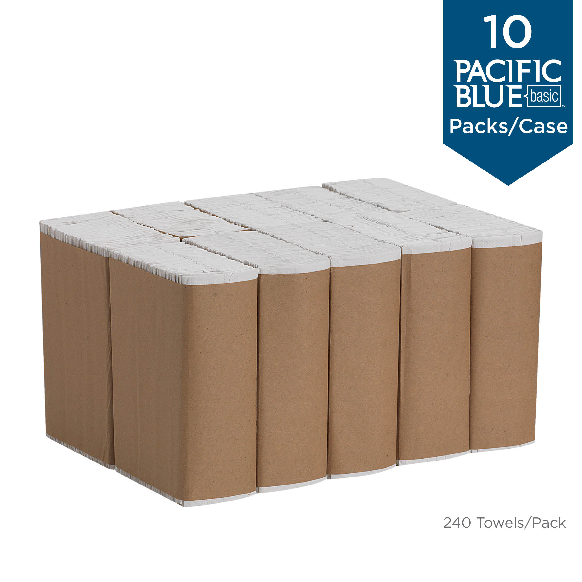 Pacific Blue Basic Paper Towel 20603 Case of 2400, White