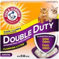 Arm & Hammer Double Duty Clumping Litter, 20lb